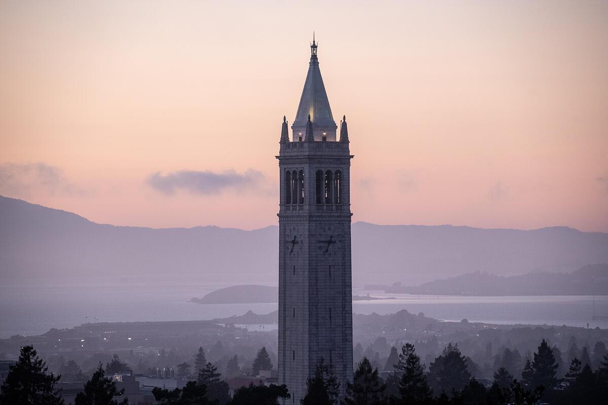 The Campanile (Sather Tower) at U.C. Berkeley